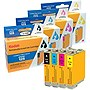 KODAK Remanufactured B/C/M/Y Ink Cartridge Combo Pack for Epson T125120-BCS