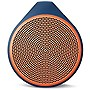 Logitech X100 Mobile Bluetooth Wireless Speaker, Orange/Blue