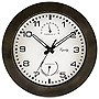 "La Crosse Technology 10"" Indoor/Outdoor Wall Clock with Temperature and Humidity"