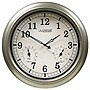 "La Crosse 18"" Quartz Indoor/Outdoor Wall Clock - WT-3181PL-Q"