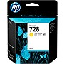 HP 728 Original Ink Cartridge - Yellow - Inkjet