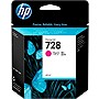 HP 728 Original Ink Cartridge - Magenta - Inkjet