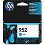 HP 952 Original Ink Cartridge - Cyan - Inkjet - 700 Page - 1 Each