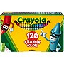 CRAYOLA 120 CT. CRAYONS 120 CRAYONS IN A STURDY STORAGE BOX