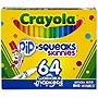 CRAYOLA 64 CT. PIP-SQUEAKS SKINNIES 64 SHORT