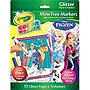 Crayola Color Wonder Glitter Paper and Markers - Disney Frozen