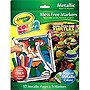 Crayola Color Wonder Metallic Paper and Markers - Teenage Mutant Ninja Turtles