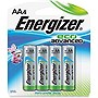 Energizer EcoAdvanced AA Batteries - AA - Alkaline - 1.5 V DC - 4 / Pack