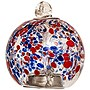"Allsop Solar 4"" Glass Drop - Red & Blue"