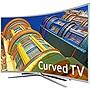 """Samsung 6250 UN55K6250AF 55"""" Full HD LED Curved Smart TV"""
