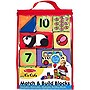 Melissa & Doug Children's Match & Build Blocks