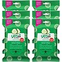 Yes To Cucumbers Hypoallergenic Facial Wipes, 10 Count (6 Pack)