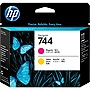 HP 744 Printhead - Magenta, Yellow - Inkjet