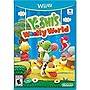 Nintendo Woolly World w/ Blue Yarn Yoshi amiibo - Wii U