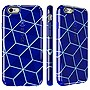Speck CandyShell Inked iPhone 6 Plus & 6s Plus Case, Cube Blue/Raincoat Blue