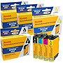KODAK Remanufactured Black, Cyan, Yellow, Magenta Ink Cartridge Combo Pack
