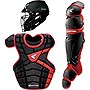 Easton M10 Youth Custom Catchers Set, Black/Red