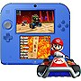 Nintendo+2DS+Electric+Blue+Handheld+Console+w%2f+Mario+Kart+7