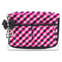 Jacki+Design+Large+Retro+Plaid+Magazine+Holder%2c+Hot+Pink