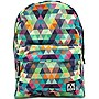 M-Edge Graffiti Backpack with Battery (Multi-Triangle)