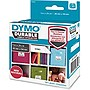 "Dymo LW Durable 1"" x 2-1/8"" White Poly, 160 Labels"