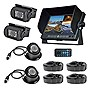 Pyle HD Multi-Camera DVR Driving System w/ 7'' Display & (4) Night Vision Cams