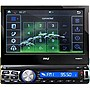 "Pyle PLRNV71 7"" Bluetooth and GPS Navigation Headunit Receiver with Built-in Mic"