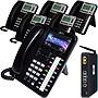 Xblue X25 System Bundle with (1) X4040 & (5) X3030 IP Phones