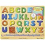 Melissa & Doug Alphabet Sound Puzzle - Wooden Peg Puzzle With Sound Effects