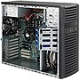 Supermicro SuperChassis 732i-500B Mid-Tower 7-Bay System Cabinet - Black