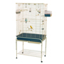 "Marchioro Delfi 82 Birdcage for Canaries and Small Parrots (67"" x 32.25"" x 20"")"