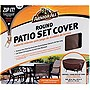 "Armor All Round Patio Set Cover, Brown/Taupe (80"" Diameter x 30"")"