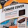 "Armor All Chaise Cover, Brown/Taupe (28"" x 76"" x 30"")"