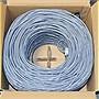 Premiertek+1000ft+Cat6+Bulk+Bare+Copper+Network+Cable+(Gray)