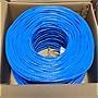 Premiertek+1000ft+Cat5e+Bulk+Cable+(Blue)