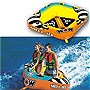 WOW 16-1060, Mojo 1 or 2 Person Towable Tube, Front/Back Tow