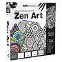 SpiceBox Art School Meditative Drawing and Coloring Zen Art