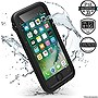 Catalyst Water Proof Shock Resistant Case for Apple iPhone 7 Stealth Black