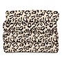 Fleece Heated Throw Cheetah