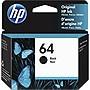 HP 64 Black Original Ink Cartridge N9J90AN
