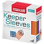 25PK CD-KEEPCR ASST COLOR PLASTIC SLEEVES FOR CD/DVD