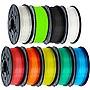 XYZprinting PLA Filament for Jr.& Mini Series - Clear Blue - 68.9 mil Filament