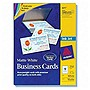 "Avery Business Card - A8 - 2"" x 3.50"" - Matte - 250 / Pack - White"