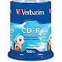 Verbatim 94712 CD Recordable Media - CD-R - 52x - 700 MB - 100 Pack Spindle
