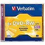 Verbatim DataLifePlus 4x DVD+RW Media - 4.7GB - 1 Pack