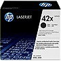 HP 42X (Q5942X) High Yield Black Original LaserJet Toner Cartridge - Black - Laser - 20000 Page - 1 Each