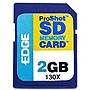 EDGE Tech 2GB ProShot Secure Digital Card 130X - 2 GB