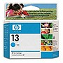 HP 13 Cyan Original Ink Cartridge - Inkjet - 1200 Page - 1 Each