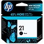 HP 21 Black Ink Cartridge - Black - Inkjet - 150 Page