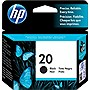 HP 20 Black Inkjet Print Cartridge - Black - Inkjet - 500 Page
